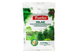 Fructus Iglak - bezchlorkowy nawóz granulowany do iglaków 2,5 kg