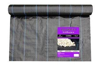 Agrotkanina czarna 0,6x50m (90g)