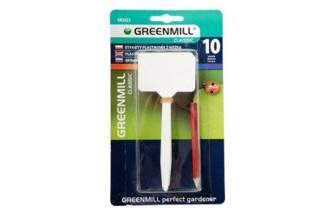 Etykiety plastikowe do podpisywania roślin 10szt. + ołówek Greenmill GR5023