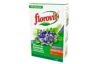 Florovit nawóz do borówek i innych kwaśnolubnych roślin 1kg karton