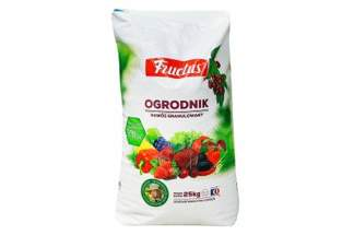 Fructus Ogrodnik - granulowany nawóz uniwersalny 25 kg