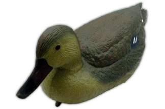 Kaczka krzyżówka samica - pływająca ozdoba do oczka wodnego GW7315