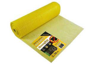 Najmocniejsza siatka przeciw kretom StrongNet - włoska (siatka na krety), oczko 15x19, kolor żółty 2x10m