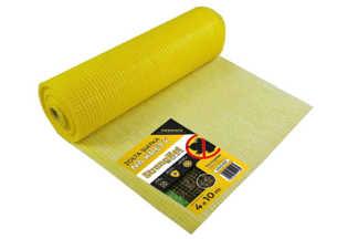Najmocniejsza siatka przeciw kretom StrongNet - włoska (siatka na krety), oczko 15x19, kolor żółty 4x10m