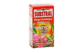 Polysect 005 SL – długo działający środek owadobójczy na mszyce, tarczniki i wełnowce – Substral 25 ml