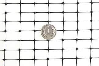 Siatka przeciw kretom, na krety, oczko 13x20mm – 2x25 m czarna