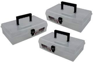 Skrzynka przezroczysta, organizer Unibox NUN12 Prosperplast 3szt