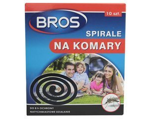 Spirale na komary BROS 10 sztuk
