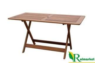 Stół ogrodowy drewniany prostokątny składany  88225 Villa Toscana