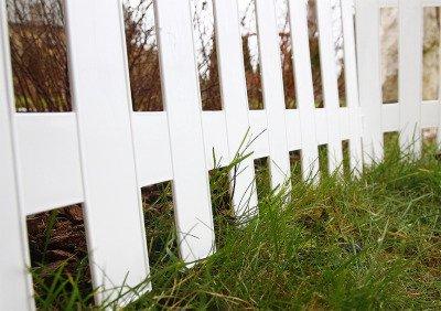 Płotek ogrodowy Garden Classic IPŁSU2 biały