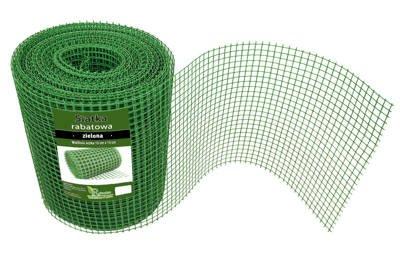 Siatka rabatowa 0,4x25m zielona