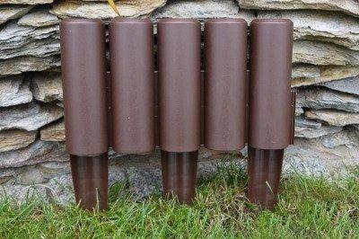 Palisada ogrodowa IPAL5 brązowa
