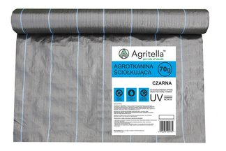 Agrotkanina czarna Agritella 1,6x10m 70g