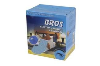 BROS Elektro odstraszacz komarów + 10 wkładów