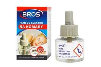 """BROS płyn do elektro na komary 40ml """"60 nocy"""""""