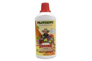 Biohumus Extra Kwiaty kwitnące 0,5 l – płynny nawóz naturalny