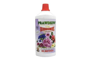 Biohumus Extra Surfinia 1 l – płynny nawóz naturalny