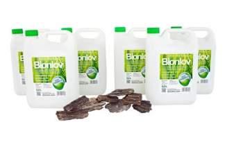Biopaliwo do biokominków Bionlov Premium (bioetanol do biokominka) 30 litrów + drzewiasty kamień do biokominka Gratis