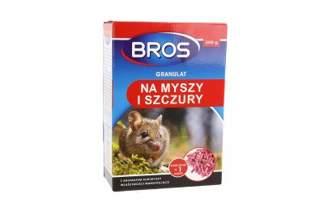 Bros granulowana trutka na myszy i szczury 500g