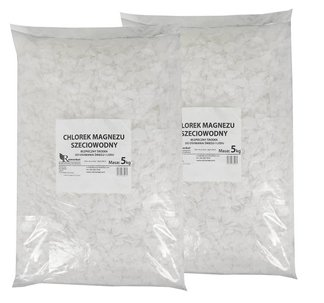 Chlorek magnezu - bezpieczny środek do usuwania śniegu i lodu 10kg