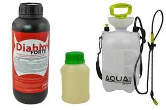 Diablo Forte 1000 ml – profesjonalny preparat do odkomarzania (komary, kleszcze i inne insekty) + utrwalacz do oprysku  250 ml + Opryskiwacz 5l