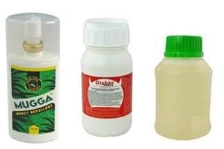 Diablo Forte – profesjonalny środek na odkomarzanie (komary, kleszcze i inne insekty) 250 ml  + utrwalacz do oprysku 250 ml + Mugga