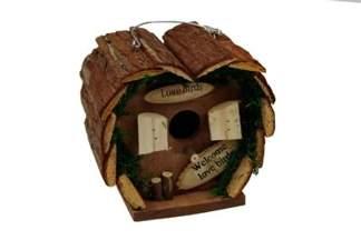Drewniany domek dla ptaków LOVE BIRDS 37211 17 cm