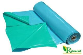 Folia do oczek wodnych, stawów i basenów Akwen 500, zielono-niebieska 6x9m