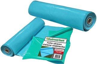 Folia do oczek wodnych, stawów i basenów Akwen 500, zielono-niebieska szerokość 8m