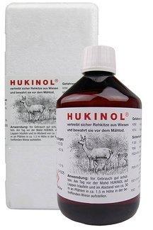 Hukinol - skuteczny zapachowy odstraszacz na dziki i zwierzynę płową 0,5l