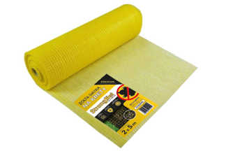 Najmocniejsza siatka przeciw kretom StrongNet - włoska (siatka na krety), oczko 15x19, kolor żółty 2x5m