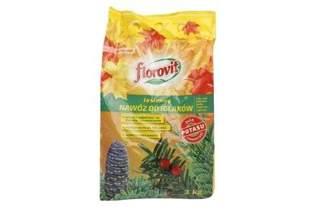 Nawóz jesienny Florovit do roślin iglastych 3kg