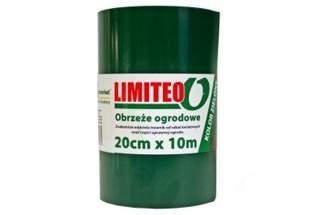 Obrzeże trawnikowe, proste LIMITEO 20cm x 10m - 10 sztuk