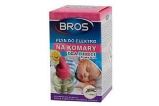 Płyn do elektro na komary dla dzieci ,,60 nocy'' Bros 40ml