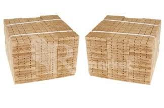 Podpałka szara 4080 kostek (102szt tabliczek po 40 kostek)