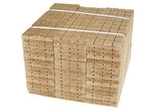 Podpałka szara 600 kostek (60szt tabliczek po 10 kostek)
