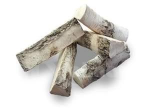 Polana ceramiczne do biokominków 5 sztuk – zestaw B (brzoza)