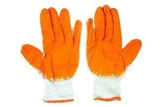 Rękawice robocze WAMPIRKI XL pomarańczowe