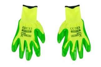 Rękawice robocze nitrylowe Nitrox Mint Bradas rozmiar 8 dla kobiet