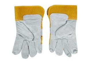 Rękawice robocze skórzane z dwoiny bydlęcej RBŻ