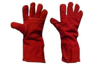 Rękawice spawalnicze z dwoiny bydlęcej