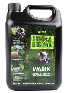 Smoła bukowa (dziegieć) - naturalny wabik na dziki 5 kg