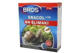 Snacol - trutka na ślimaki, preparat BROS 3kg