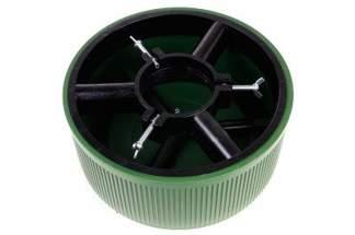 Stojak choinkowy z mocnego tworzywa, zielony 5 litrów