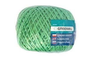 Sznurek ogrodowy zielony 100m GR5045