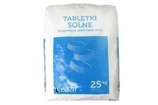 Tabletki solne do basenów oraz do uzdatniania i zmiękczania wody Ciech 25kg