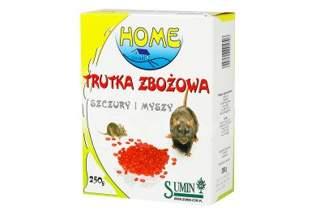 Trutka zbożowa na szczury i myszy Ratimor 250g Sumin Home – w formie ziarna