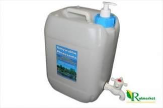 Umywalka turystyczna 10 litrów - pojemnik na wodę z kranikiem + dozownik na mydło