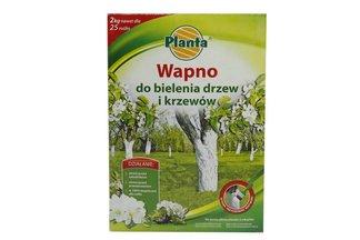 Wapno do bielenia drzew i krzewów - karton 2kg PLANTA