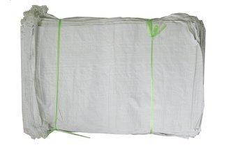 Worek polipropylenowy 25kg biały, 50x80cm (10.000 szt.)  oferta hurtowa - importer worków